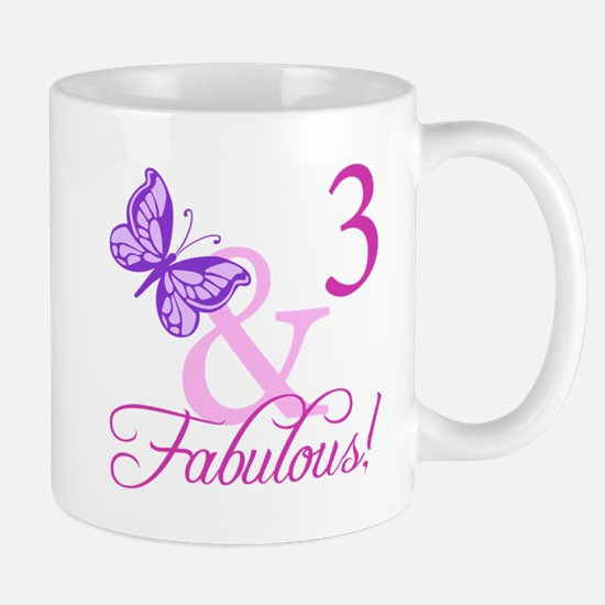 Fabulous 3rd Birthday For Girls Mug