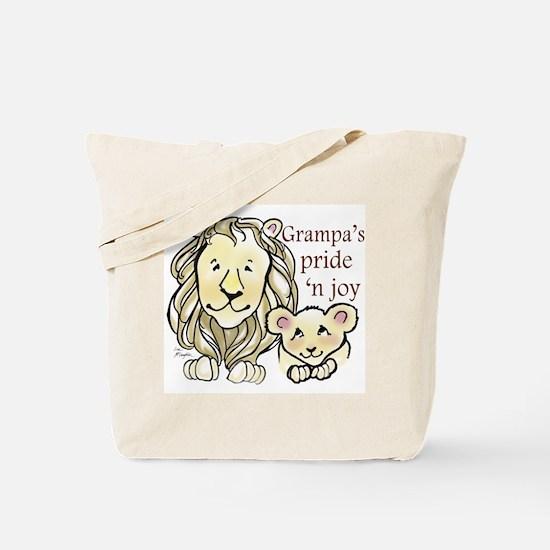 Grampas Pride n Joy Tote Bag