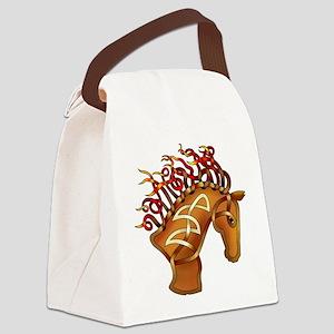 Horsehead Canvas Lunch Bag