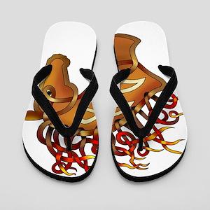Horsehead Flip Flops