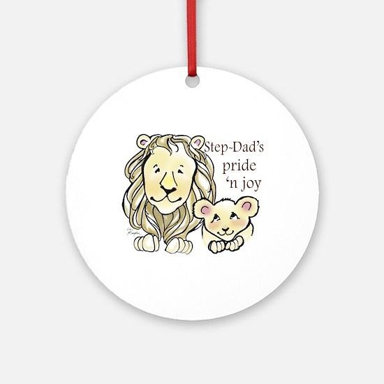 Step-Dads Pride n Joy Ornament (Round)