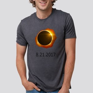 total eclipse Mens Tri-blend T-Shirt