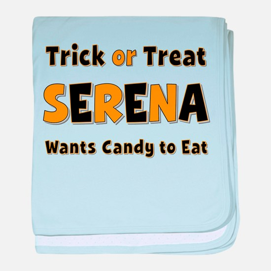 Serena Trick or Treat baby blanket