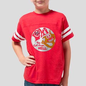 Lokitee_black Youth Football Shirt