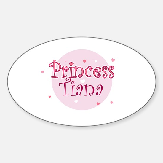 Tiana Oval Decal