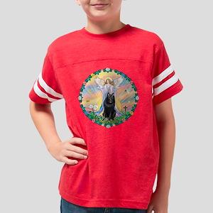 W-ABlessing-Schipperke Youth Football Shirt