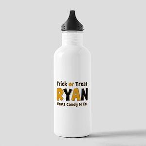Ryan Trick or Treat Water Bottle