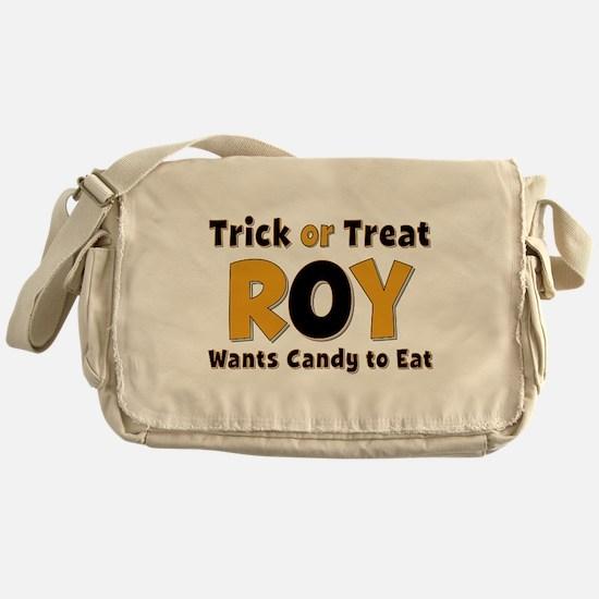 Roy Trick or Treat Messenger Bag