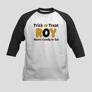 Roy Trick or Treat Baseball Jersey