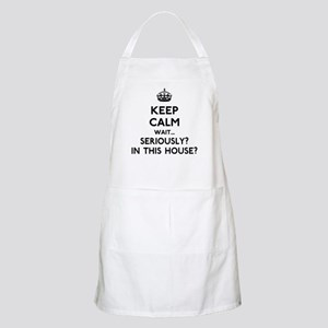 Keep Calm In This House Apron