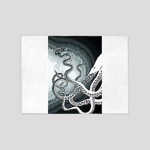 Octopus Tentacles 5'x7'Area Rug