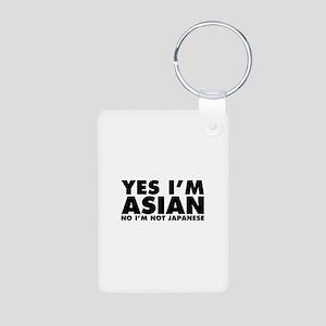 Yes I'm Asian No I'm Not Japanese Aluminum Photo K