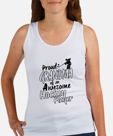 Proud Grandma of An Awesome Hockey Player Tank Top