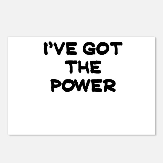 IVE GOT THE POWER Postcards (Package of 8)