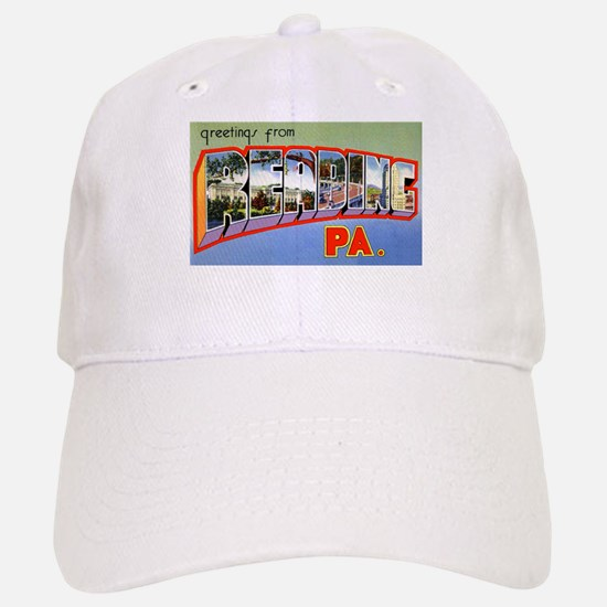 Reading Pennsylvania Greetings Baseball Baseball Cap