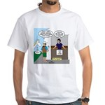 Lost Cowboy Boots White T-Shirt