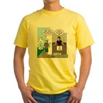 Lost Cowboy Boots Yellow T-Shirt