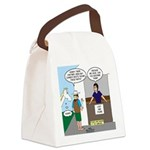 Lost Cowboy Boots Canvas Lunch Bag