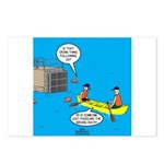 Canoeing the Wrong Way Postcards (Package of 8)