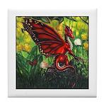 """Fairy Dragon"" Red Fairy Dragon Coaster"