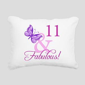 Fabulous 11th Birthday For Girls Rectangular Canva