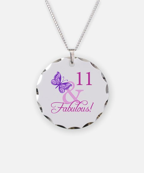 Fabulous 11th Birthday For Girls Necklace