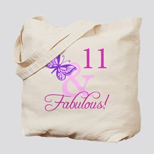 Fabulous 11th Birthday For Girls Tote Bag