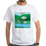 Live Streaming White T-Shirt