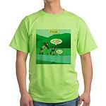 Live Streaming Green T-Shirt