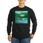 Live Streaming Long Sleeve Dark T-Shirt