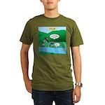 Live Streaming Organic Men's T-Shirt (dark)