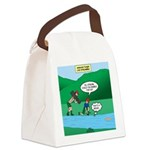 Live Streaming Canvas Lunch Bag
