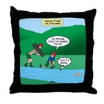 Live Streaming Throw Pillow