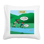 Live Streaming Square Canvas Pillow