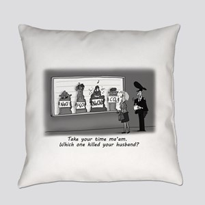 Sodium Cyanide Lineup Everyday Pillow