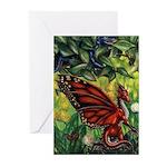 """""""Fairy Dragon"""" Fairy Dragon Cards (Pk of 10)"""