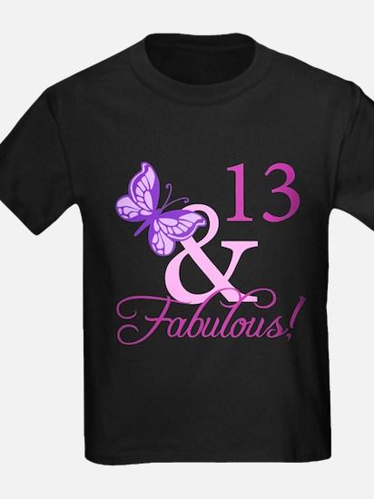 Fabulous 13th Birthday For Girls T
