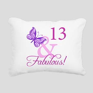 Fabulous 13th Birthday For Girls Rectangular Canva