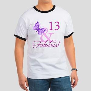 Fabulous 13th Birthday For Girls Ringer T