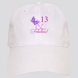 Fabulous 13th Birthday For Girls Cap