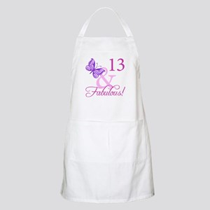 Fabulous 13th Birthday For Girls Apron