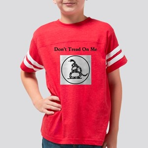 Dont Tread White Youth Football Shirt