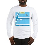Shark in the Pool Long Sleeve T-Shirt