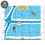 Shark in the Pool Puzzle