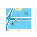 Shark in the Pool Postcards (Package of 8)