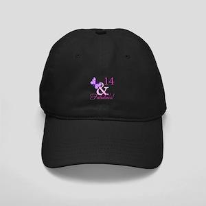 Fabulous 14th Birthday For Girls Black Cap