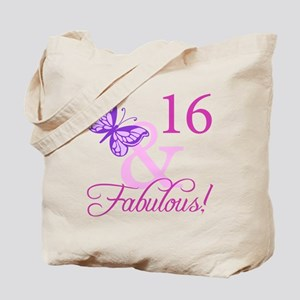 Fabulous 16th Birthday For Girls Tote Bag