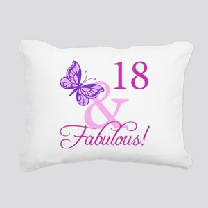 Fabulous 18th Birthday For Girls Rectangular Canva