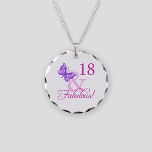 Fabulous 18th Birthday For Girls Necklace Circle C