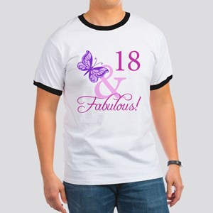 Fabulous 18th Birthday For Girls Ringer T